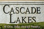 Cascade Lakes sign