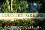 Country Greens sign