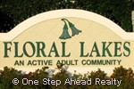 Floral Lakes sign