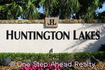 Huntington Lakes sign