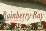 Rainberry Bay sign