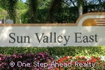 Sun Valley East sign
