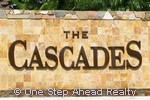 The Cascades community sign