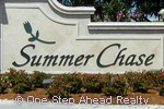 Summer Chase community sign