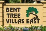 Bent Tree Villas East community sign