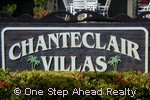 Chanteclair Villas community sign