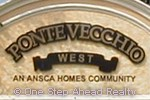 Ponte Vecchio West community sign