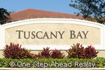 Tuscany Bay community sign